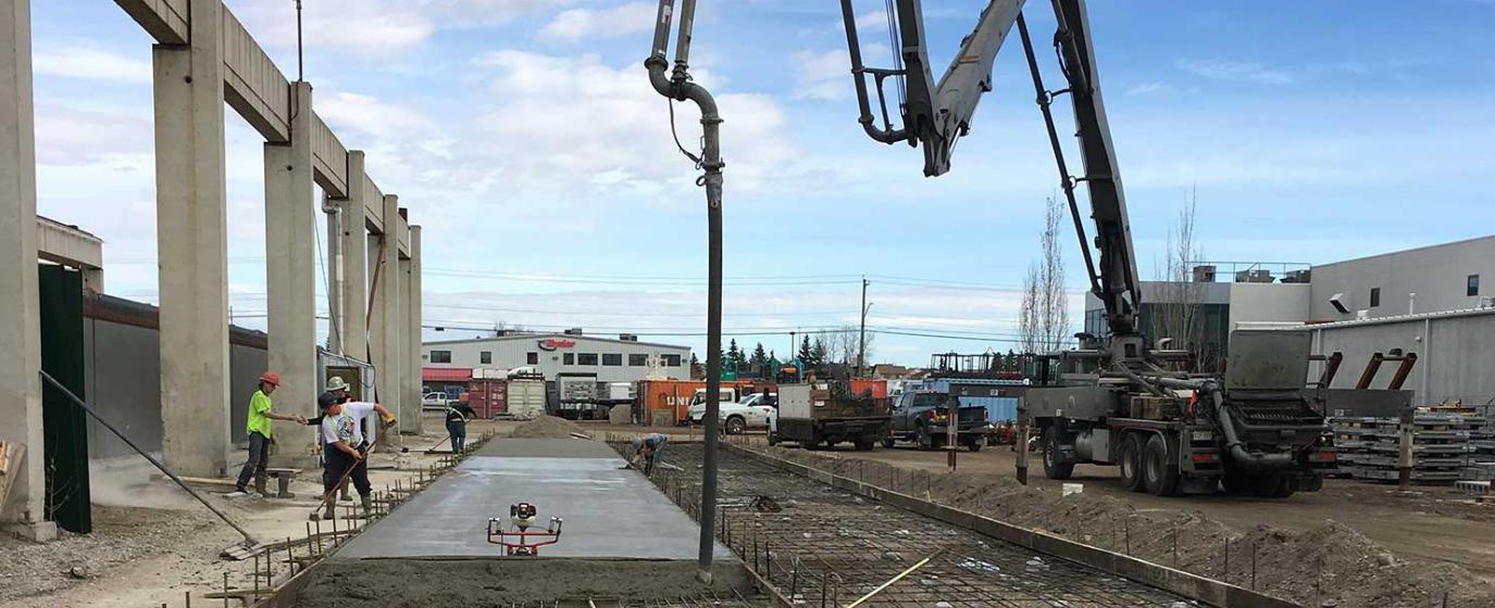 Commercial Concrete Calgary Alberta Canada