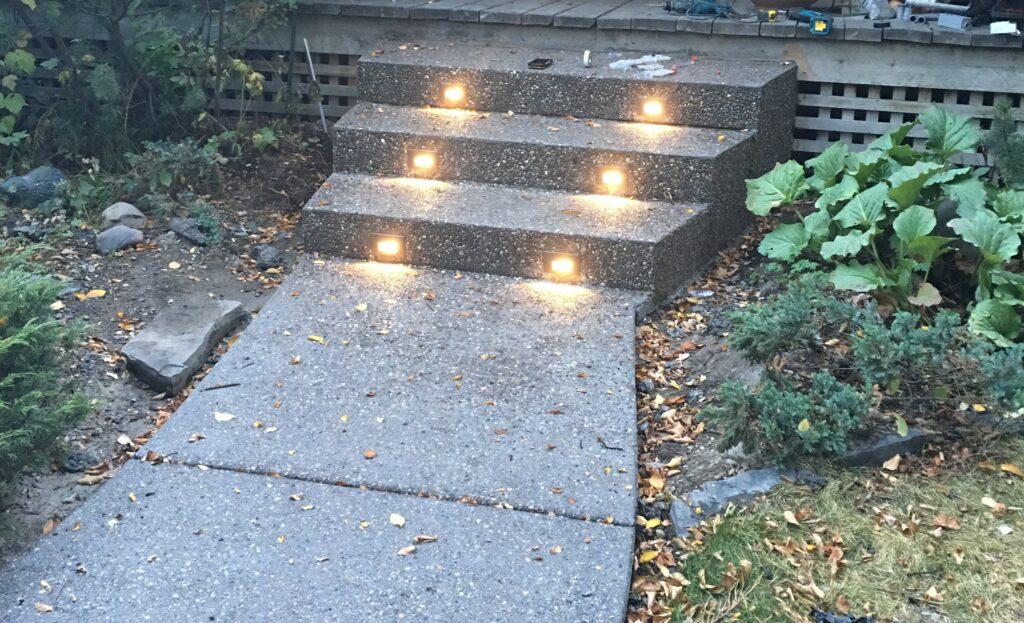 Calgary Exposed Sidewalk CJ Construction