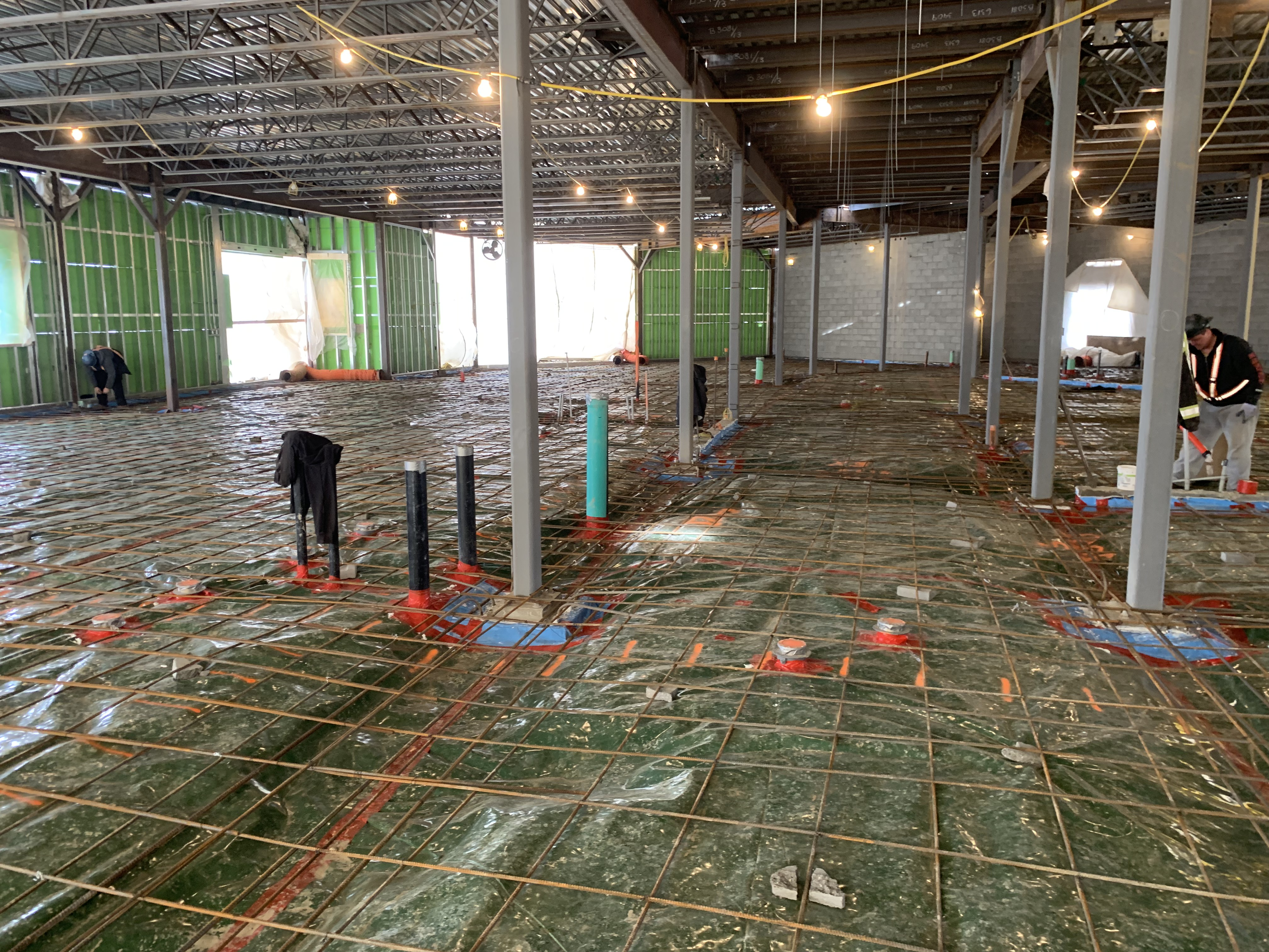 Calgary Large Commercial Concrete Project